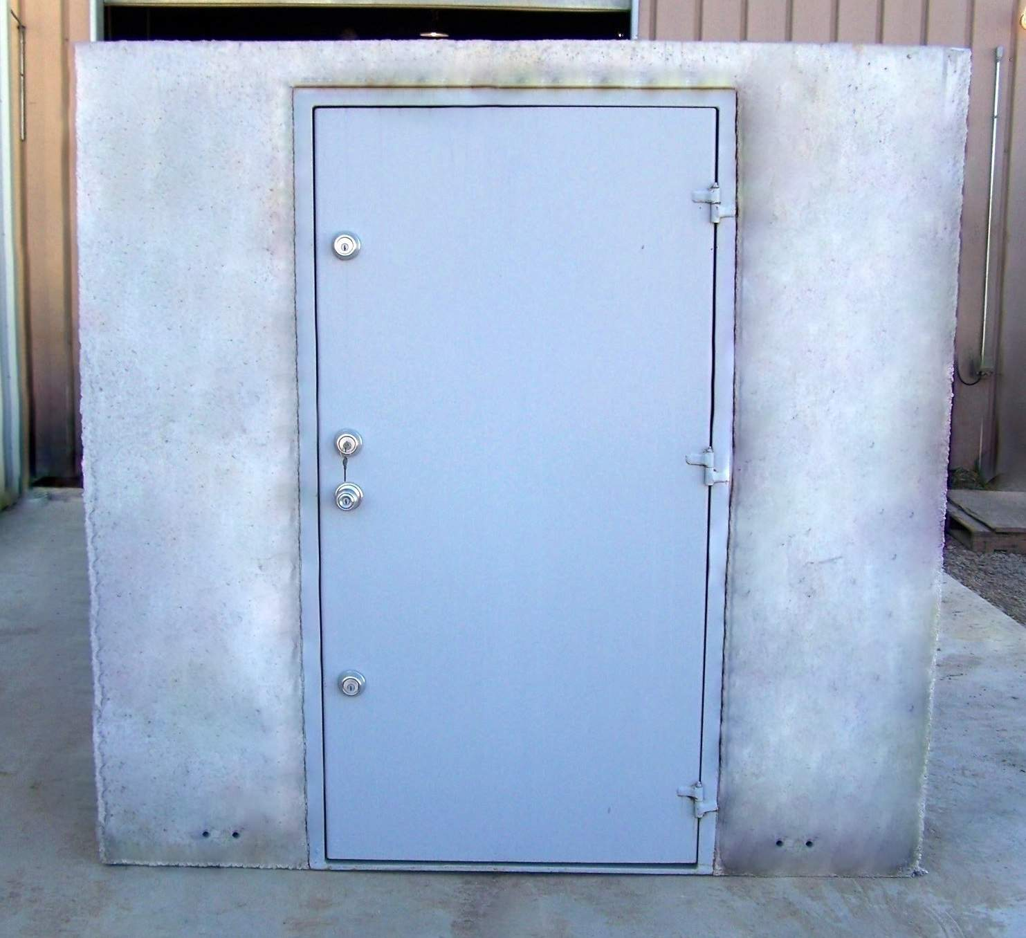 Concrete Safe Room